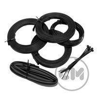 CableModders Sleeving Kit - Medium - Sort