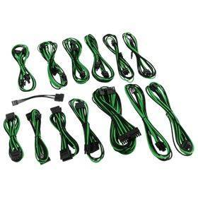 CableMod - SE-Series XP2 / XP3 / KM3 / FL2 Cable Kit - Black / Green