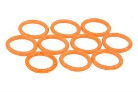 Phobya O-Ring - 11x2mm (G¼) - UV Orange - 10 stk.