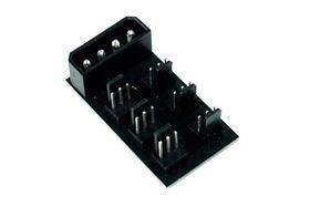 Phobya 4-pin Molex til 6 stk. 3-pin Fan Splitter PCB