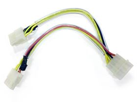 4 Pin Molex Y kabel - Multi LED